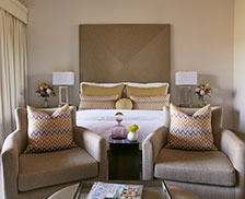SENZA Hotel Rooms - Vineyard King Suite