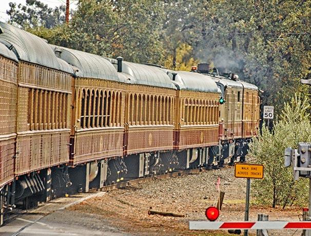 Experince the Napa Valley Wine Train