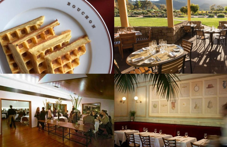 Brunch in Yountville in the Napa Valley