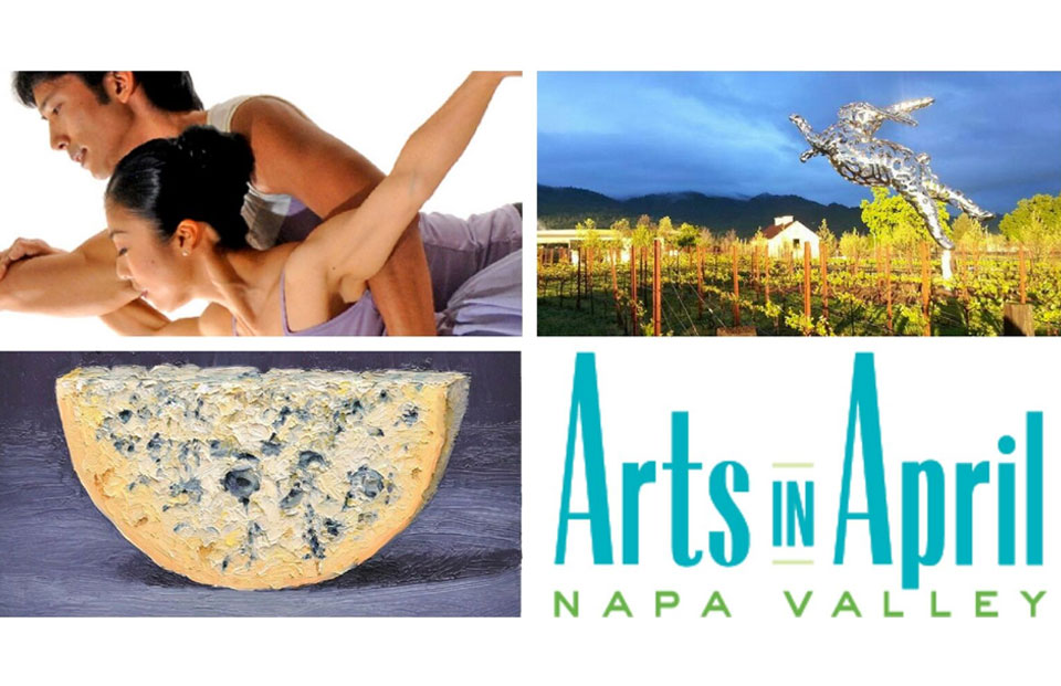 Arts in April in the Napa Valley 2017