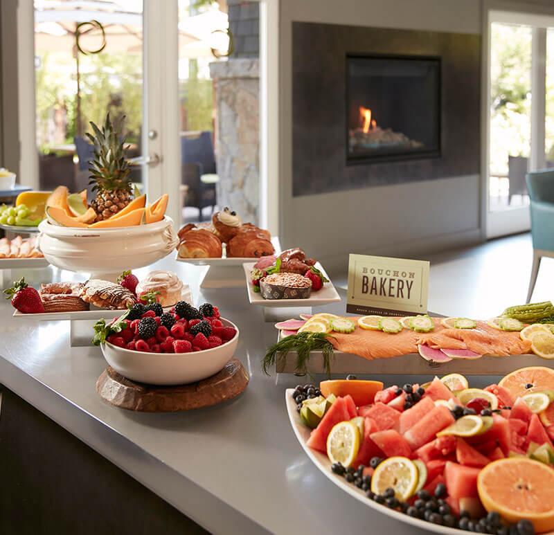 Senza Hotel, Napa Breakfast Facilities