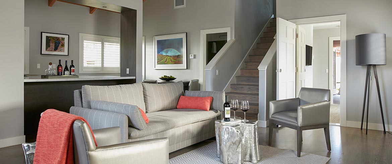 Guest Rooms & Suites at Senza Hotel, Napa