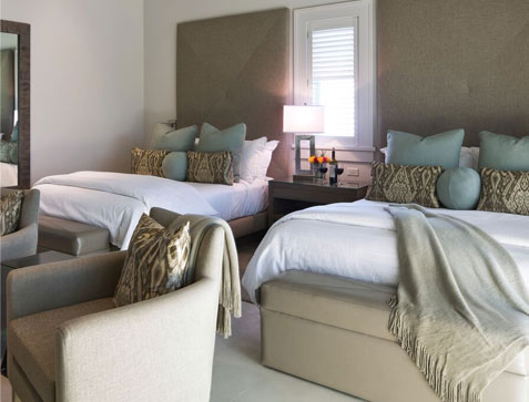 Two Queen Suites at SENZA Hotel, Napa