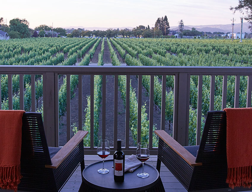SENZA Hotel, Napa Vineyard Suites