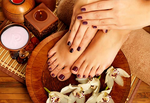 Feet & Hands massage in Napa Hotel Spa